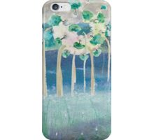 'Water world' in watercolours iPhone Case/Skin