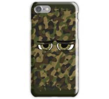 Funny Camouflaged Eyes iPhone Case/Skin