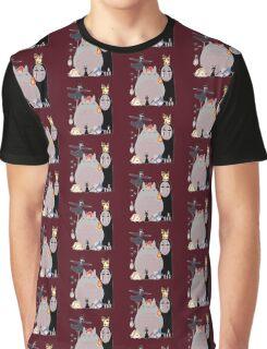 Studio Ghibli Gang Graphic T-Shirt
