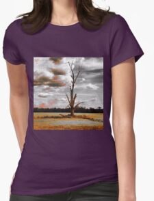 Lightening Tree Womens Fitted T-Shirt
