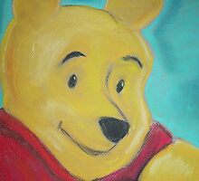 Winnie the Pooh - Aqua by justineb