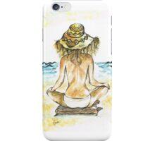 Beach Yoga iPhone Case/Skin