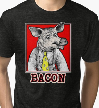 Bacon Man Tri-blend T-Shirt