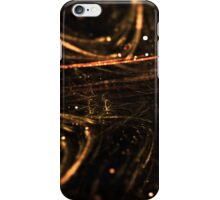 abstract glowing arrows shape pointing inside iPhone Case/Skin