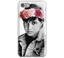 Johnny Cade Flower Crown iPhone Case/Skin