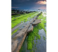 Beach of Barrika Photographic Print