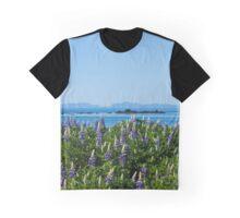 Scenic Alaskan Photography Print Graphic T-Shirt