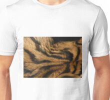Tigerskin pattern of the back of a Tiger Unisex T-Shirt