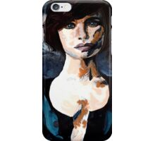 Belle - Abstract Acrylic Portriat iPhone Case/Skin