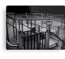 Empty Playground Metal Print