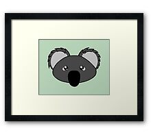 Koala - a cute australian animal Framed Print
