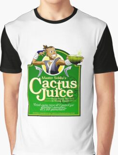 Master Sokka's Cactus Juice Graphic T-Shirt