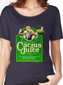 Master Sokka's Cactus Juice Women's Relaxed Fit T-Shirt