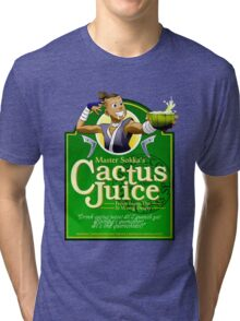 Master Sokka's Cactus Juice Tri-blend T-Shirt