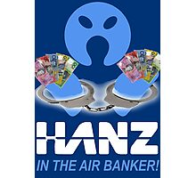 Arrested Banker Photographic Print