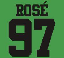 BLACKPINK Rose 97 (Black) Baby Tee