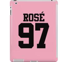 BLACKPINK Rose 97 (Black) iPad Case/Skin