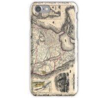 United States in 1849 iPhone Case/Skin