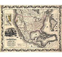 United States in 1849 Photographic Print