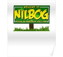 Nilbog Poster