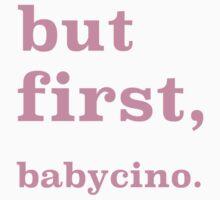 Baby cino - pink Kids Tee