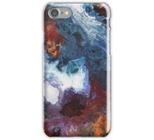 Colours of the Reef 2 - Abstract Acrylic Painting iPhone Case/Skin