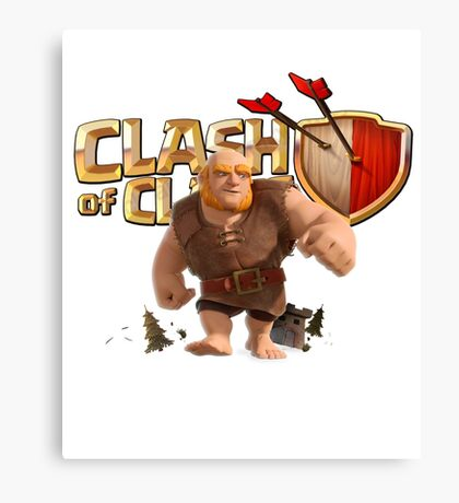 Clash of Clans Giant Canvas Print