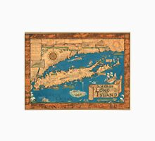 1953 Long Island map - special gift idea Unisex T-Shirt