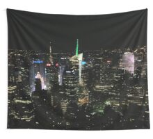 view from the empire state Wall Tapestry