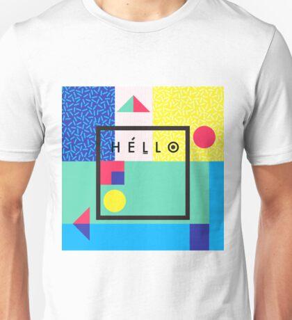 Hello colors Unisex T-Shirt