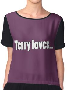 Terry Loves Chiffon Top