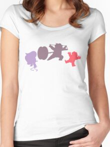 Smoky Fusion (Steven & Amethyst) Women's Fitted Scoop T-Shirt