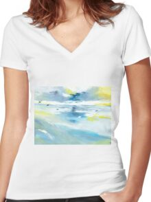 Expanse Women's Fitted V-Neck T-Shirt