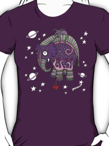 Interstellar Elephant Tee T-Shirt