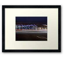 Random Colors In An Abstract Patern Framed Print