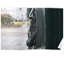 Beautiful knocker Brighton Pavillion Poster