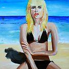 On the Beach by Sonia de Macedo-Stewart