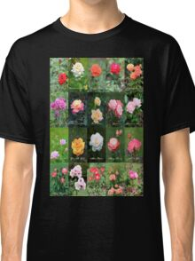 June Roses Garden Collage Classic T-Shirt
