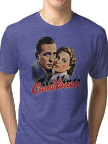 CASABLANCA HUMPHREY BOGARD INGRID BERGMAN retro classic Tri-blend T-Shirt