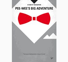 No511 My Pee Wees Big Adventure minimal movie poster Unisex T-Shirt