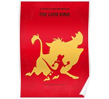 No512 My The Lion minimal movie poster Poster