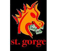 st. gorge Photographic Print