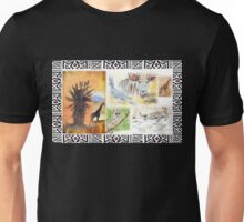 African collage - Ethnic series Unisex T-Shirt
