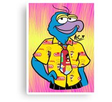 Fashion King Gonzo Canvas Print