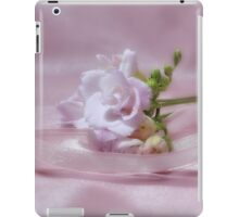 Freesia and Ribbon iPad Case/Skin