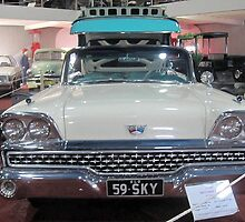 Ford Skyliner 500-1959 by gillsart