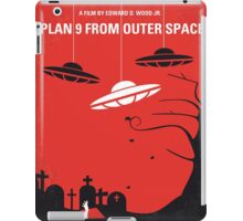 No518 My Plan 9 From Outer Space minimal movie poster iPad Case/Skin