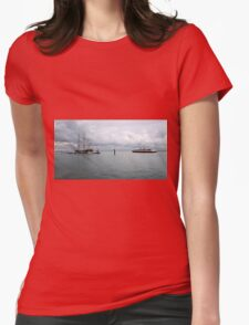 THE NEW PASSING THE OLD. Womens Fitted T-Shirt