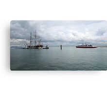 THE NEW PASSING THE OLD. Canvas Print