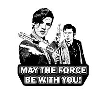 Use the Force, Doctor Jedi (Cartoon) Photographic Print